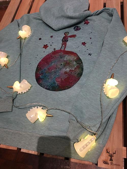 Remeras y buzos de algodon o modal estampado con imagenes de mandalas o geometria sagrada ZM diseños y regalos