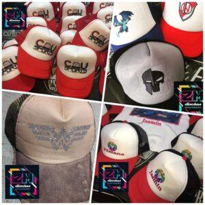 Gorras personalizadas ZM diseños y regalos